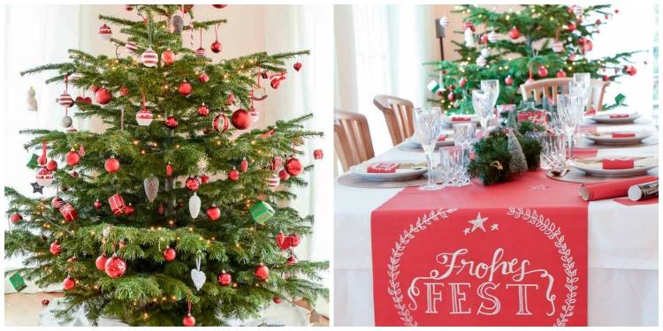 weihnachtstischdeko-mit-tafelstoff-collage-baum