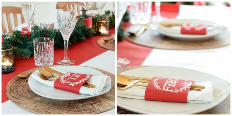 weihnachtstischdeko-mit-tafelstoff-collage-serviette