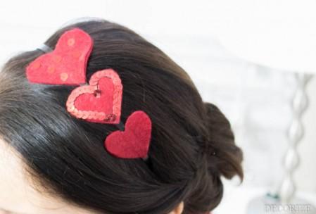 Die 10 schönsten Ideen zum Valentinstag: DIY Haarreifen