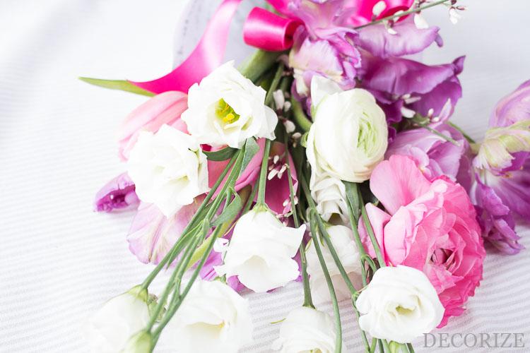 Free Download: Blumen-Papier zum Einwickeln by Decorize