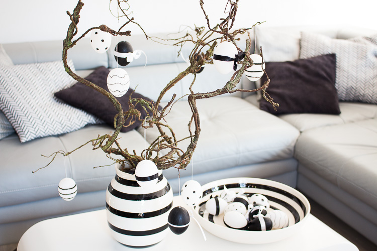 DIY: Monochrome Ostereier by Decorize
