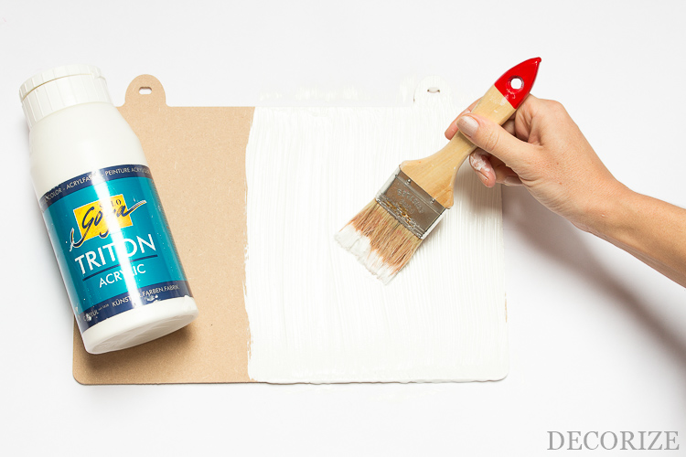 DIY Oster-Türschild mit Blumenvase Tutorial