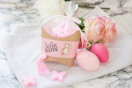 Ein Ostergeschenk aus Knetseife