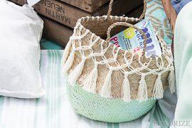 Coole Knüpfereien - DIY: trendy Makramée Korb