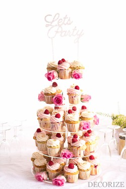 Wedding Partystyling in Blush & Gold