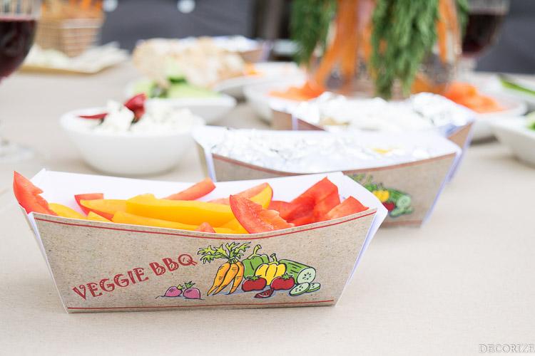 Veggie BBQ Tray