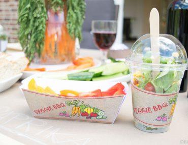 Veggielicious - zwei Printables fürs Veggie BBQ