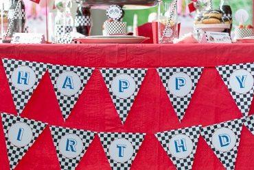 Party-Deko für Kindergeburtstag - Blogger-Event von Coppenrath & Wiese
