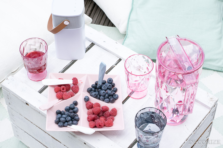 Summer Must-Haves Outdoor Sommer Terrasse- Koziol Crystal