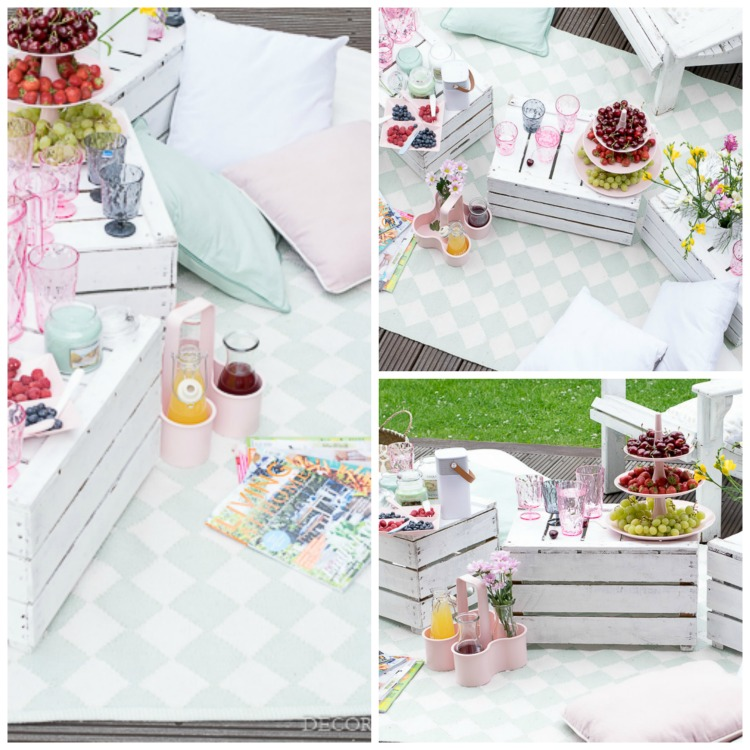 Summer Must-Haves Outdoor Sommer Terrasse liv Collage