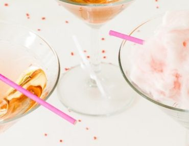 Cotton Candy Drink - Party-Getränk mit Zuckerwatte