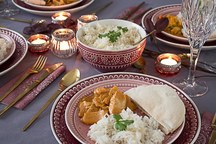 Dinner mit Freunden: Curry Night by Decorize