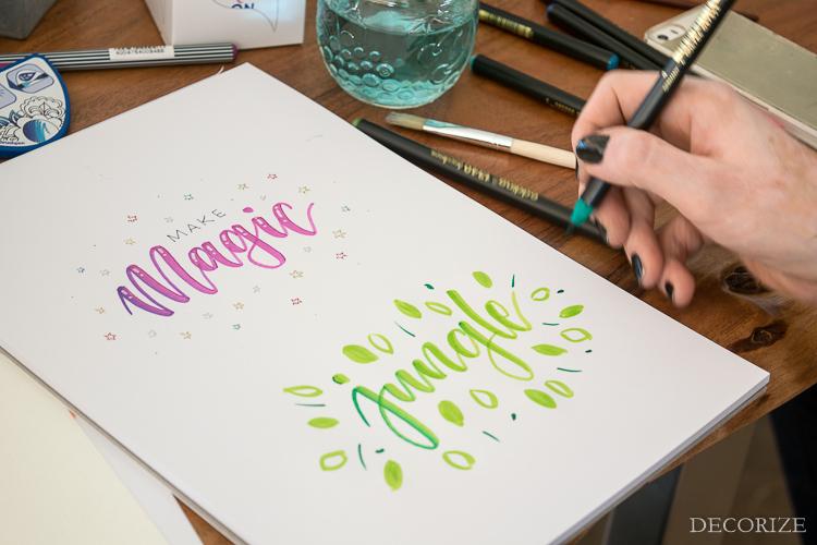 Workshop Handlettering Farbsprays-59