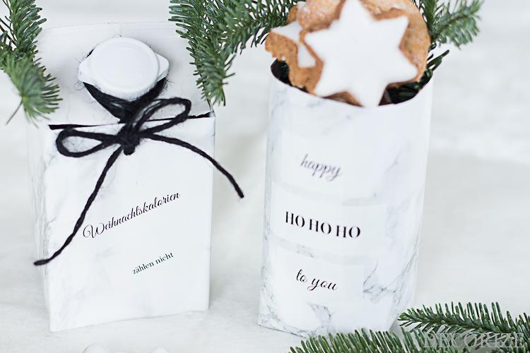 TetraPak DIY Weihnachten Geschenkverpackung