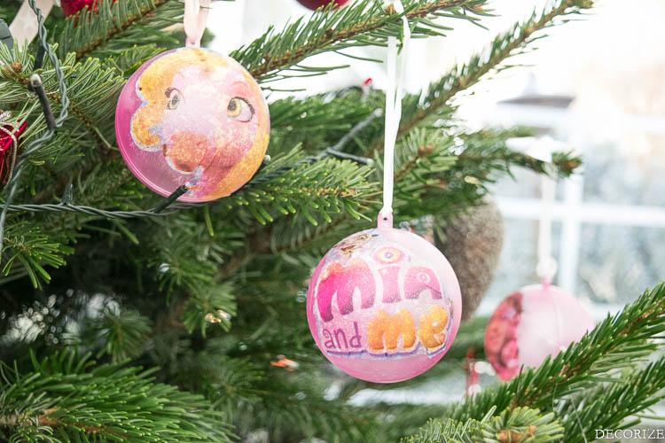 Weihnachts-DIY Mia & me Baum-2