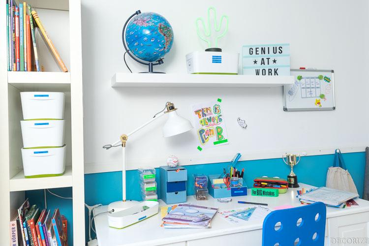 DYMO Schreibtisch Ordnung-2
