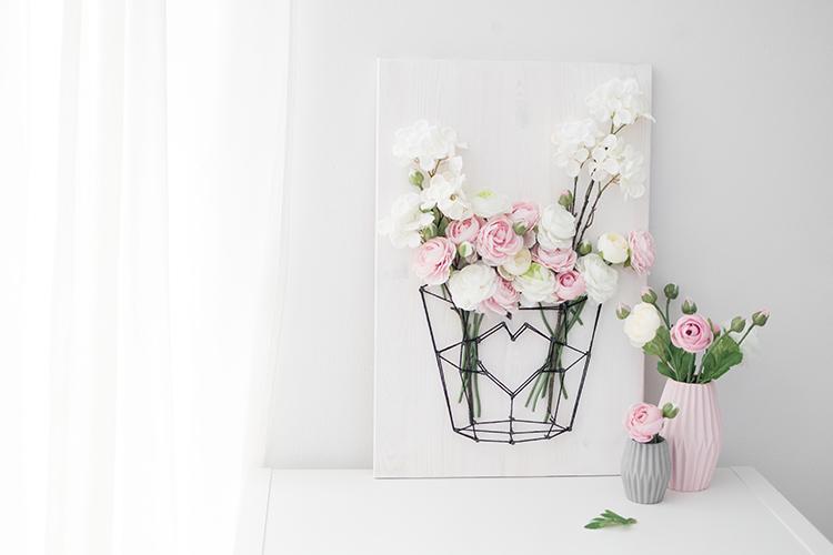 DIY Fadenbild für den Frühling