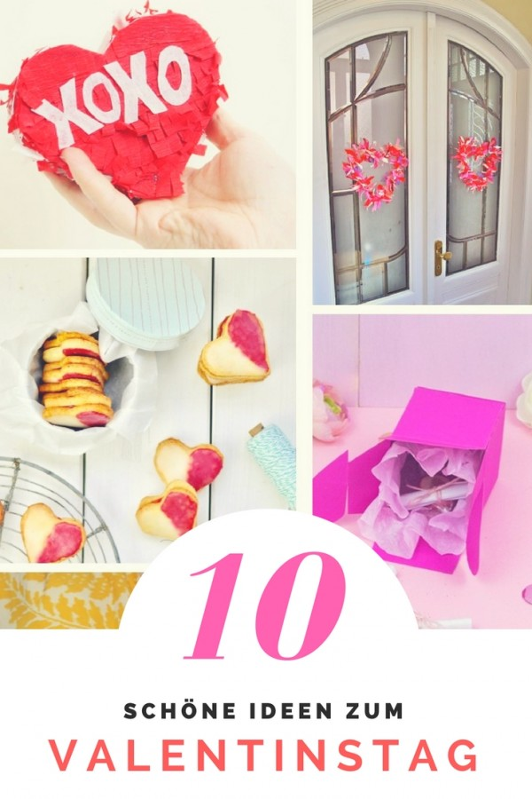 Valentinstags-Ideen