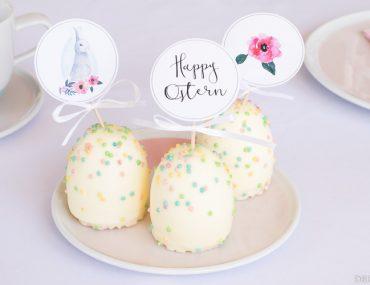 Happy Ostern! Party Printable für Deine Osterdeko