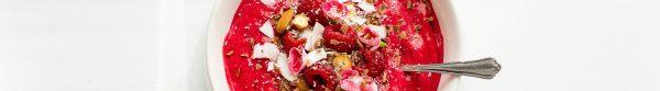 Healthy Eating: Himbeer-Kokos Smoothie Bowl