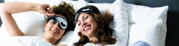 Sleepy Eyes - DIY Schlafmaske mit Botschaft