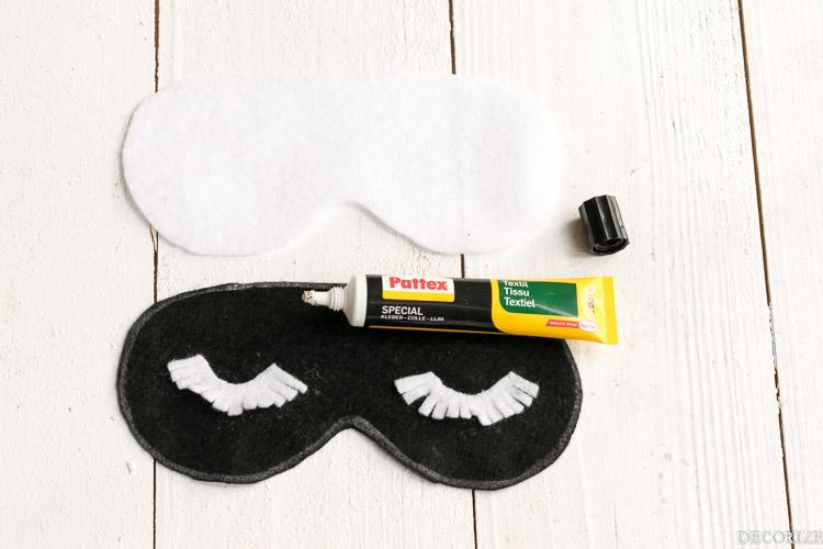 Schlafmaske DIY sleeping mask-3