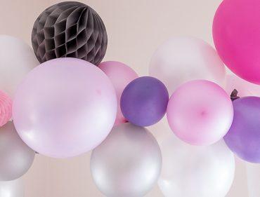 Pump up the Party - DIY-Anleitung zur Ballon-Girlande