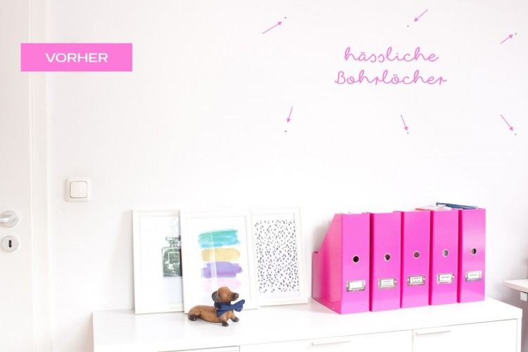 DIY Konfetti Wand tesa malerband by Decorize