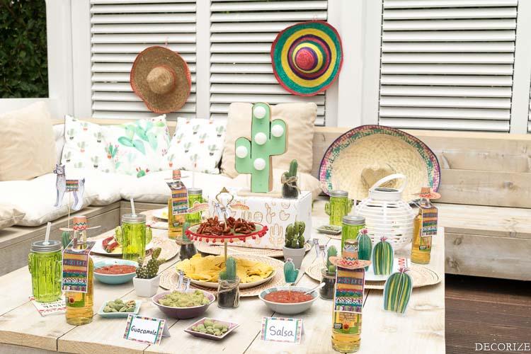 Viva la Vida - Partytipps für eine Fiesta Mexicana Sommerparty