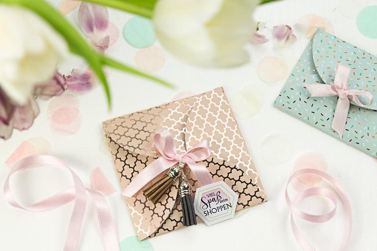 Shopping deluxe - DIY-Gutschein-Verpackung