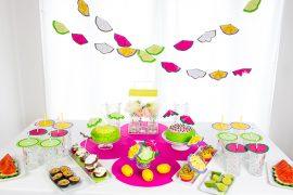 Sommerfrüchte-Party: DIYs & Sommer-Torten