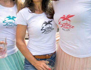 DIY Sommer-Shirts selbermachen mit Siebdruck für Zuhause