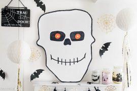 Spooky eyes XXL - DIY Halloween Totenkopf