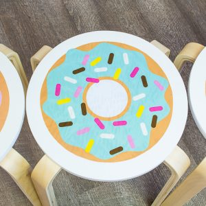 Süsse Sitzgelegenheit – DIY Donut-Hocker