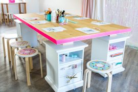 DIY Craft-Table: Anleitung zum Selberbauen