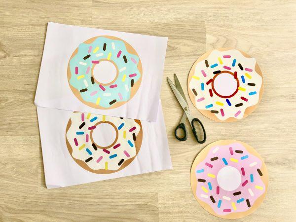 Süsse Sitzgelegenheit - DIY Donut-Hocker