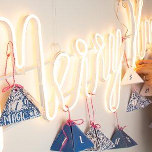Merry Christmas – der leuchtende Adventskalender für unser Studio