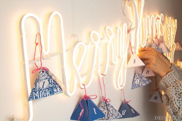Merry Christmas - der leuchtende Adventskalender für unser Studio