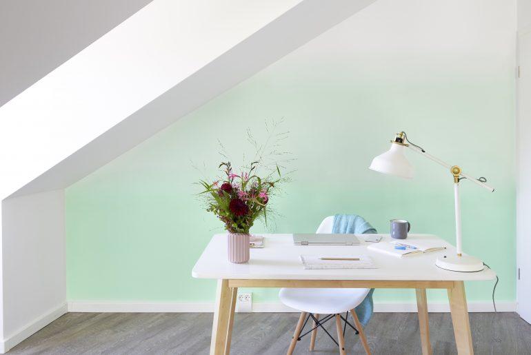 Eyecatcher Ombré-Wall - kreative Wandgestaltung mit Farbverlauf
