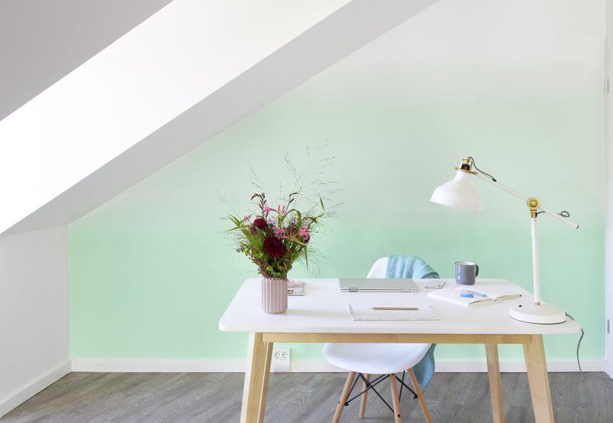 Eyecatcher Ombré-Wall – kreative Wandgestaltung mit Farbverlauf