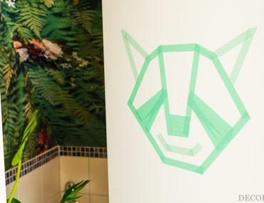 Wall Art im Kreativ-Studio - mit tesa  Deco Tapes