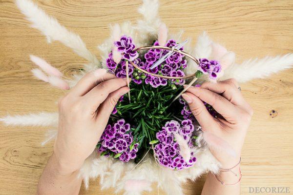 Pink Kisses - blumige Tischdeko-DIYs für deine Hochzeit