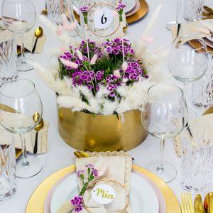 Pink Kisses – blumige Tischdeko-DIYs für deine Hochzeit