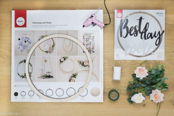 Put a ring on it - Gewinnspiel: Florale DIY- Deko fürs schönste Fest