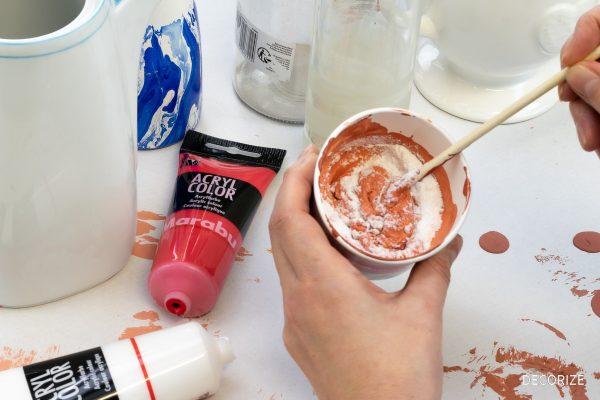 Faux Terrakotta - Upcycling mit DIY Keramikfarbe