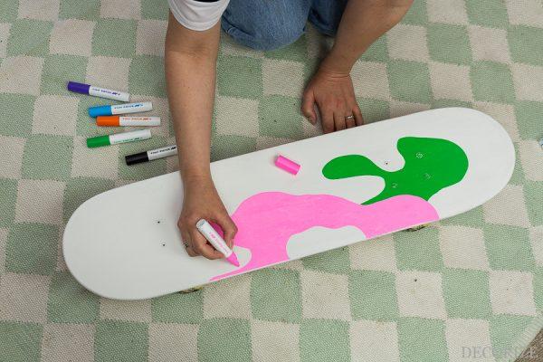 DIY Skateboard Upcycling mit Pilot Pintor