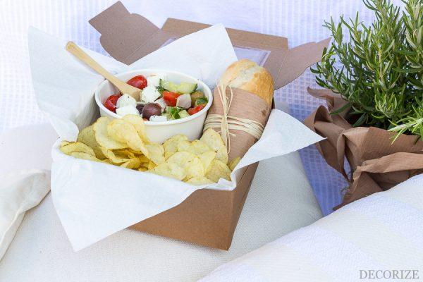 Sommer Picknick Snackbox